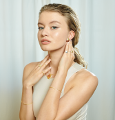 Bouchon ring by Anna Marešová, Champagne collection.