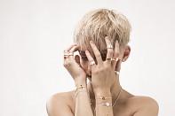 Element Earrings - stříbrné náušnice