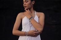 Náramek ANBARU - říční perla, hematit a stříbro.