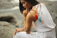 Spirituální šperk z autentické Rudrakshy