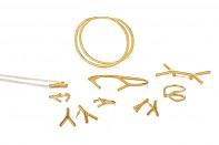 SENSO Collection - pozlacené stříbro, mat