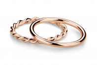Muselet ring set by Anna Marešová, Champagne collection.