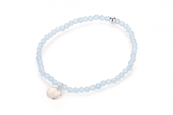 KOH TAO - dedicated to the desire for AQUAMARINE, sky blue topaz and silver