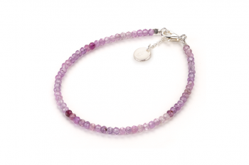 AYONNA - dedicated to the desire for DECISION, pink sapphire and silver