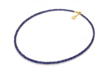 MAJULI Necklace - safírový náhrdelník zasvěcený touze po ROZHODNOSTI
