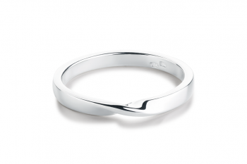 OMG Crush Ring - silver, glossy