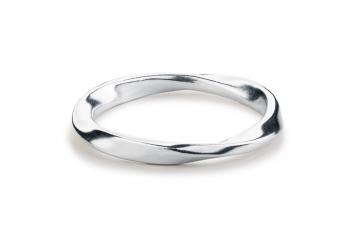 Guilty Crush Ring - stříbrný prsten, mat