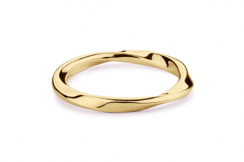 Guilty Crush Ring - gold plated silver, glossy