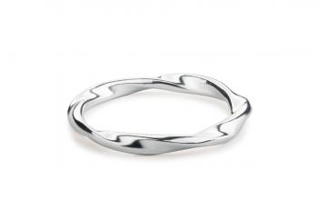 Fatal Crush Ring - stříbrný prsten, mat