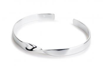 OMG Crush Bracelet - silver, glossy