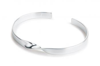 OMG Crush Bracelet - silver, matte
