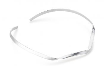 Expensive Crush Necklace - stříbrný náhrdelník, mat