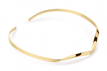 Expensive Crush Necklace - gold plated silver, glossy
