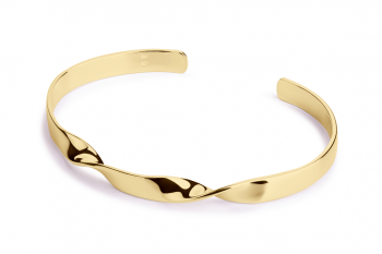 Expensive Crush Bracelet - gold plated silver, glossy