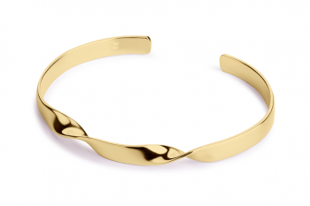 Expensive Crush Bracelet - gold plated silver, matte