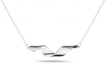Fatal Crush Necklace - silver, glossy