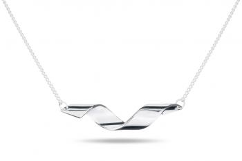 Fatal Crush Necklace - stříbrný náhrdelník, lesk