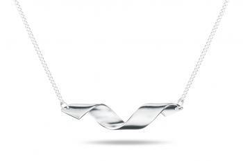 Fatal Crush Necklace - stříbrný náhrdelník, mat