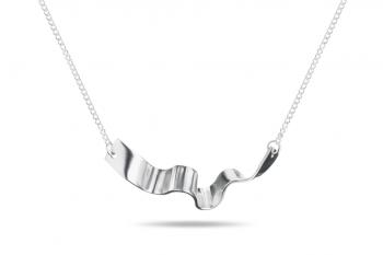 Summer Crush Necklace - stříbrný náhrdelník, mat