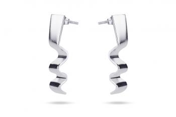 Summer Crush Earrings - stříbrné náušnice, mat