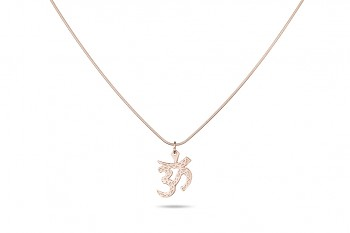 ÓM SHIVA - Stříbrný náhrdelník