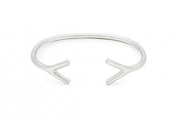 WAI Bracelet - Stříbrný náramek, mat