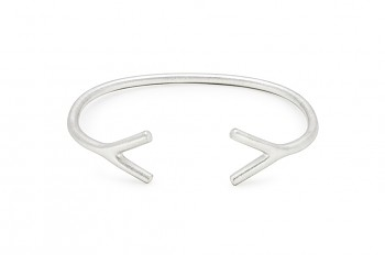 WAI Bracelet - Silver bracelet, matte
