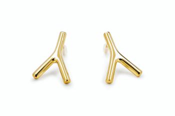 WAI Earrings - Gold plated silver earrings