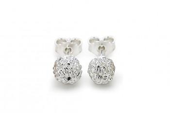 KIRTI - Silver earrings