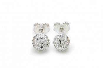 KIRTI - Silver earrings