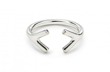 WAI Ring YY- Stříbrný prsten, lesk