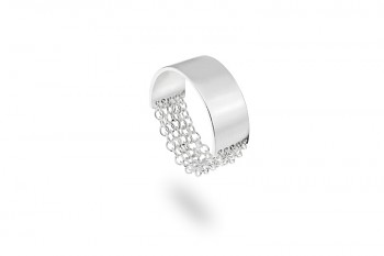 FULEA - Silver ring, chains