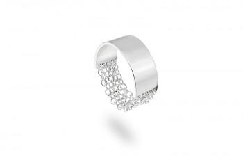 FULEA - Stříbrný prsten, řetízky