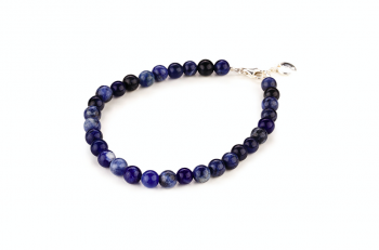SABA - dedicated to the desire for BEAUTY, sodalite and silver