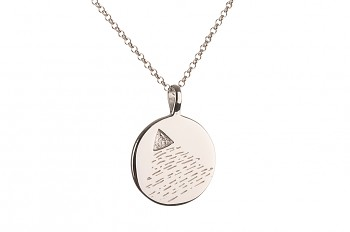 Element AIR Necklace - silver