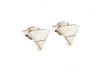 Element EARTH earrings - silver