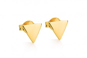 Element WATER earrings - gold plated silver