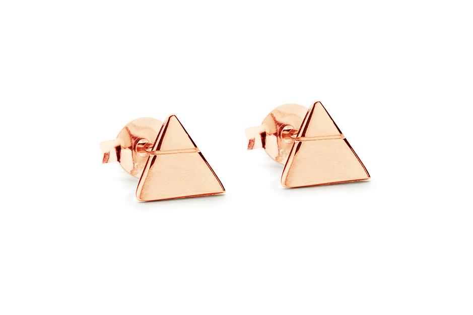 WAI Earrings - Stříbrné náušnice, lesk