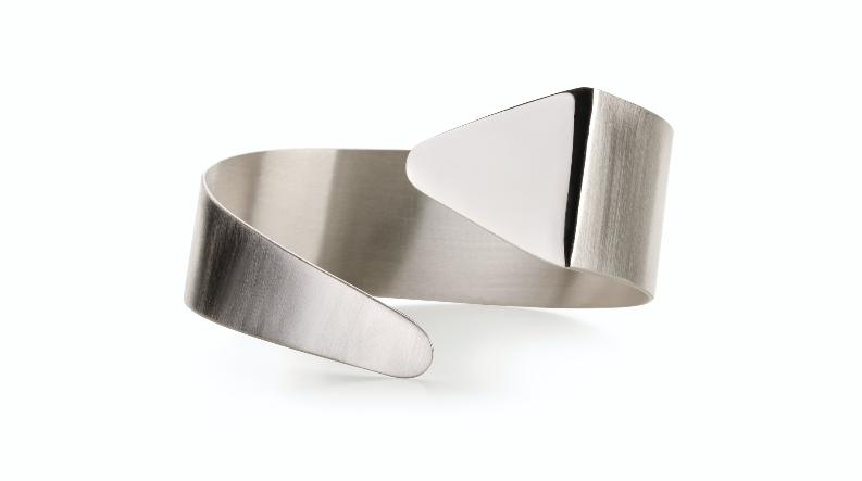 WAI Earrings - Stříbrné náušnice, mat