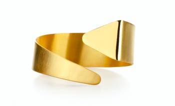 Element Ether Bracelet - gold plated silver bracelet
