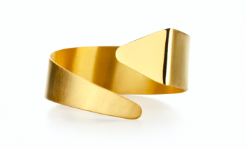 Element Ether Bracelet - gold plated silver bracelet