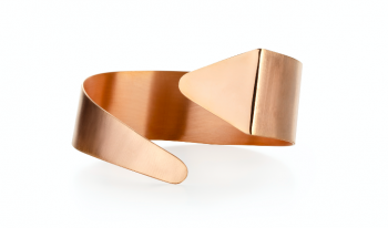 Element Ether Bracelet - rose gold plated silver bracelet