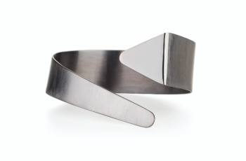 Element Ether Bracelet - black rhodium plated silver bracelet