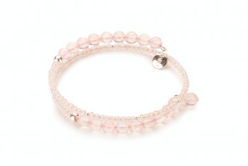 SINGARAJA - dedicated to the desire for LOVE, rose quartz and silver