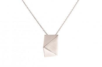 NOSHI Necklace - stříbrný náhrdelník krátký