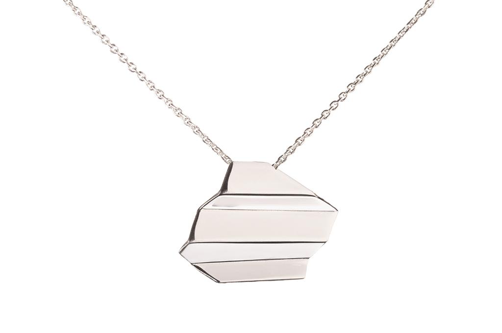 NAMI Necklace - stříbrný náhrdelník krátký cc8bbc9ce59