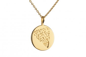 Element EARTH - gold platted silver