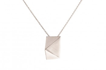 NOSHI Necklace - silver, long