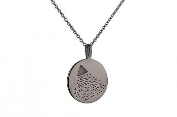 Element AIR Necklace Black