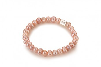 NONA - dedicated to the desire for BEAUTY, rose pearl and silver